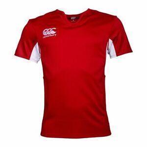 Canterbury Mens Quick Drying Vapodri Challenge Jersey (Red/White)