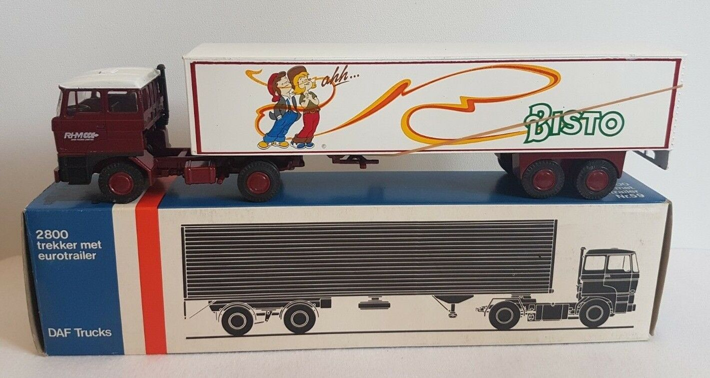 Bisto sauce-LION CAR - 1 50 Camion Camion remorque DAF 2800