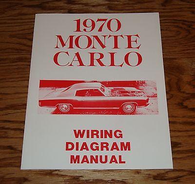 1970 Chevrolet Monte Carlo Wiring Diagram Manual 70 Chevy ...