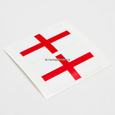 Show Your Support! England Strip Shirt St George Stick on Window Car Decoration