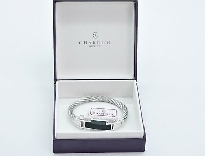 Jewelry & Watches Strong-Willed Charriol Pulsera Con 925 Sterling Plata Elemento 360€ 04271107-0/n163