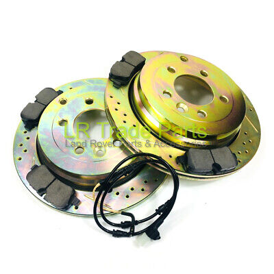 SDB000636 Rear Brake Disc Land Rover Range Rover Sport 2.7TdV6