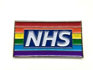 UK-Stock-Thank-You-NHS-show-support-Rainbow-Pin-Badge-Brooch-doctor-gift