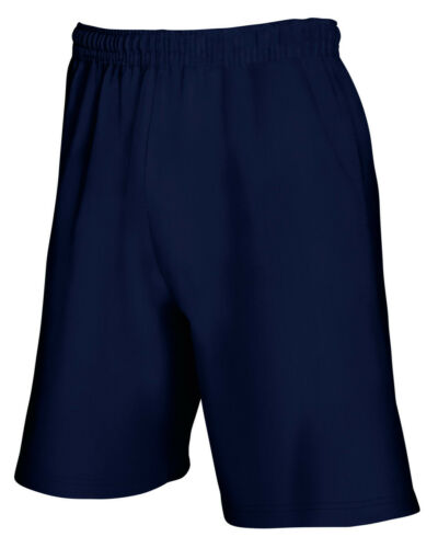 Homme Longueur Genou Short en coton jersey Jogger Short molletonné taille S M L XL 2XL
