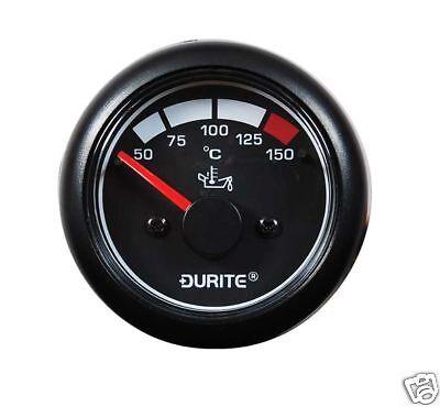DURITE 0-525-16 12//24V LED OIL PRESSURE MARINE GAUGE