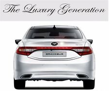 Art X Generation Rear Trunk EMBLEM Badge 1EA for Hyundai Azera 2012 2016