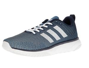 Details about adidas NEO Men's Cloudfoam Super Flex Running Shoes Navy/White/Blue Size 9.5 New