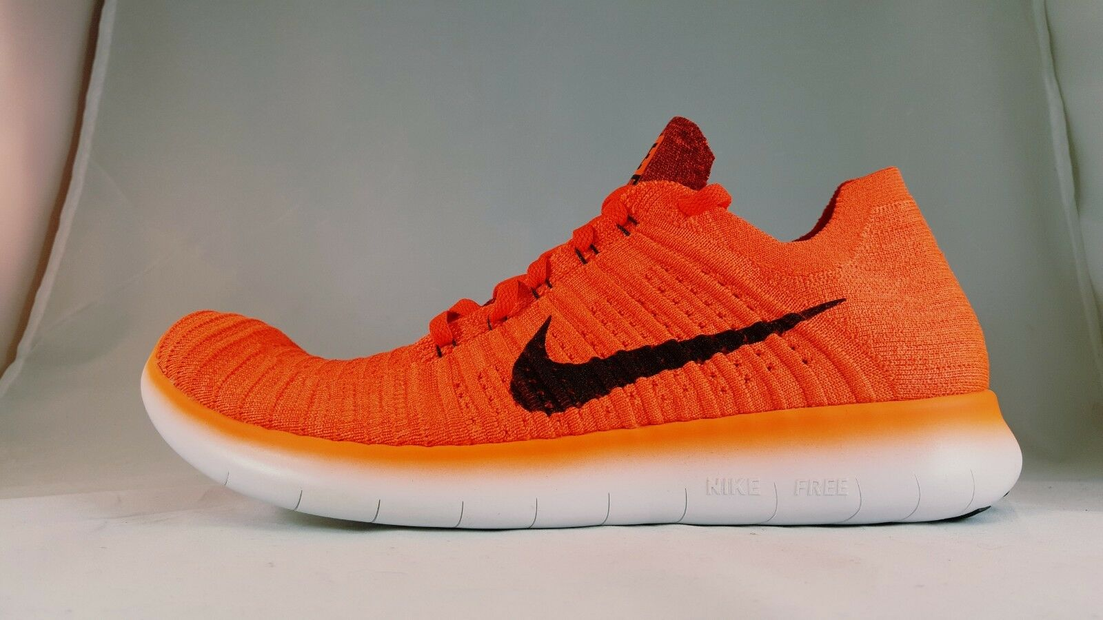 Nike Free RN Flyknit Men's Running shoes 831069 600 Size 10.5