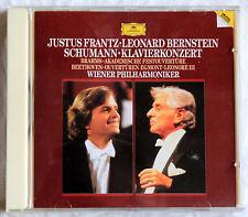 CD Schumann Klavierkonzerte - Justus Frantz / Bernstein / Wiener Philharmoniker