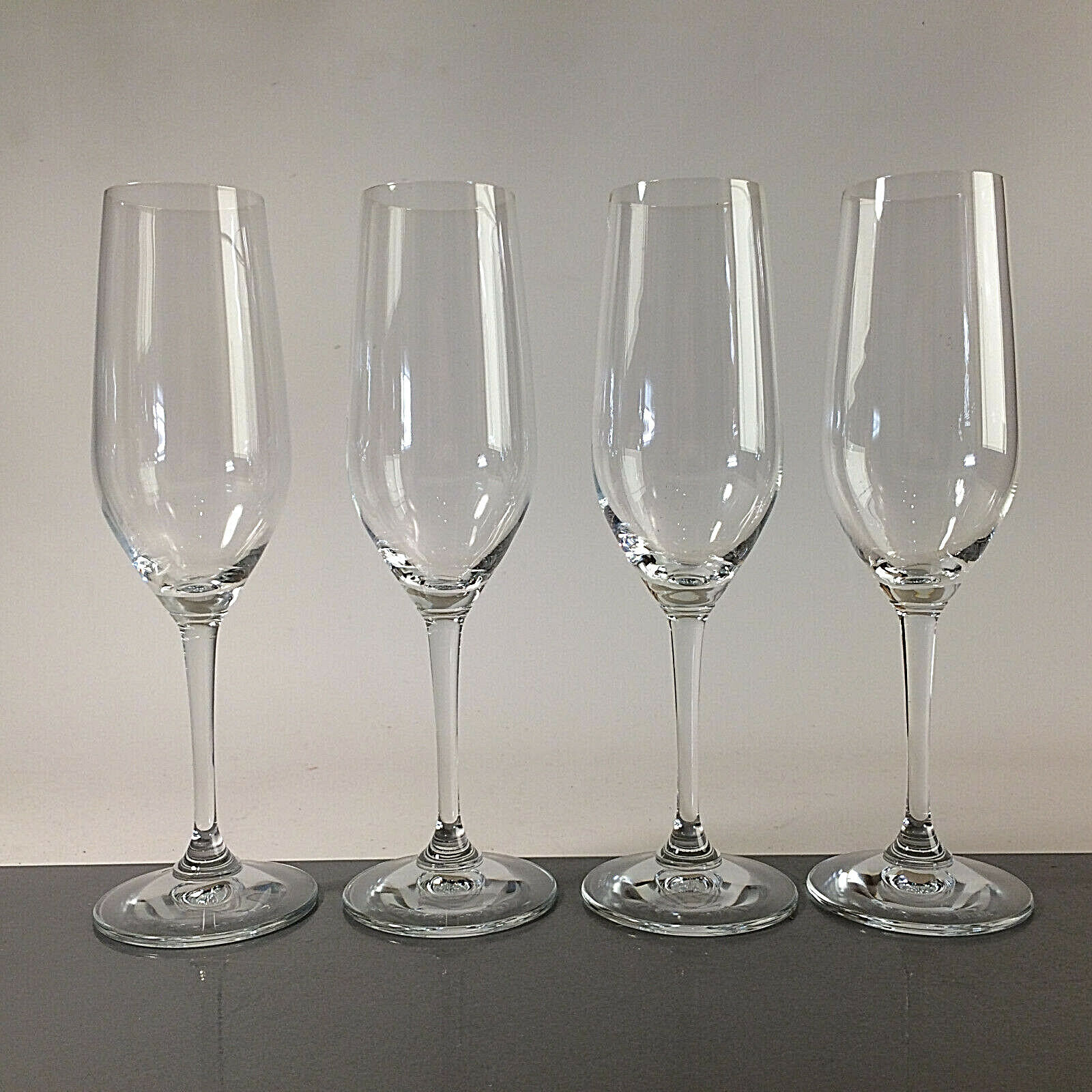 (c84) RIEDEL  - 4er Set - Sektgläser  Champagnerkelche 22,5 cm Gläser | Genial Und Praktisch