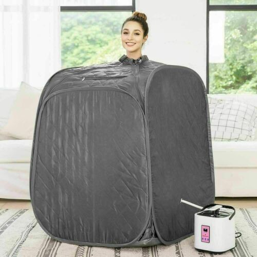 Details about  /2L Portable Folding Steam Sauna SPA Loss Weight Detox Therapy Body slim b e 349