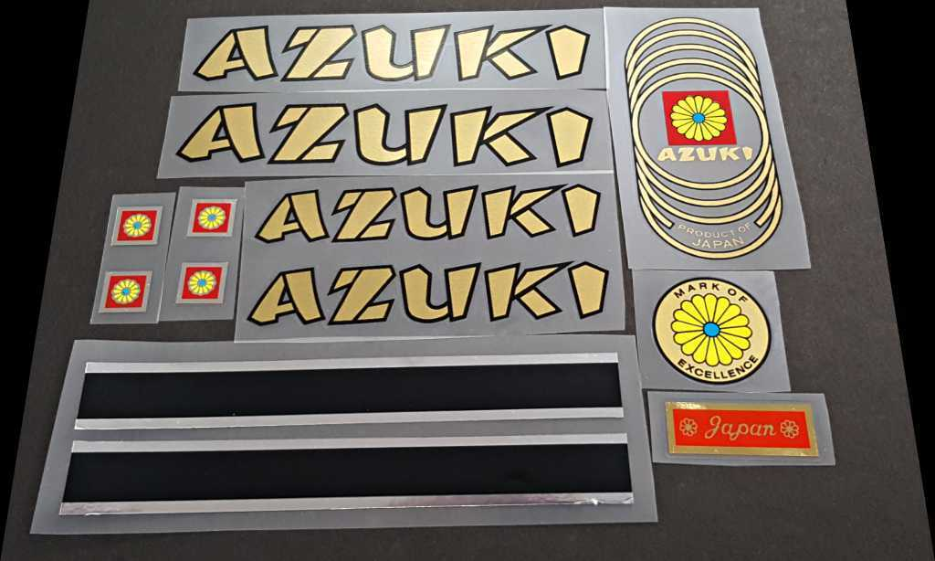 Azuki Bicycle Decal Set (sku 10126)