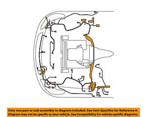 infiniti nissan oem engine control module ecm pcu pcm wiring harness rh ebay com
