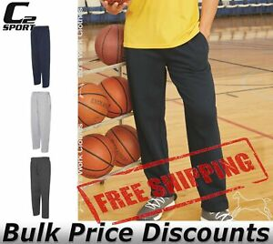 C2-Sport-Mens-Open-Bottom-Sweatpants-With-Pockets-5577-up-to-4XL