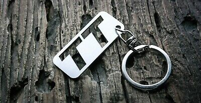 Jeep keychain stainless steel key chain keyring fob tag schlüsselring