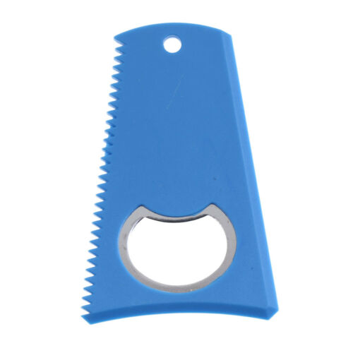 Surfing Surfboard Skimboard Wax Comb Wax Scraper Remover with Bottle Opener
