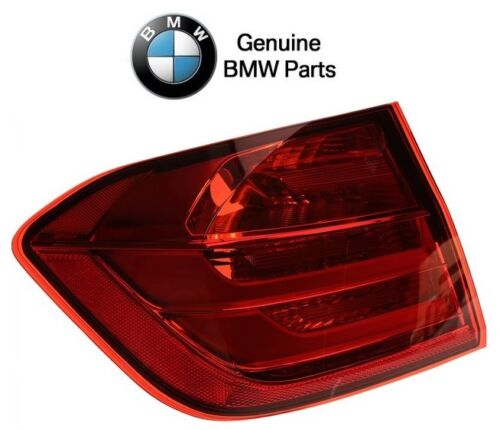 For BMW F30 3-Series Rear Driver Left Outer Taillight Assy for Fender Genuine