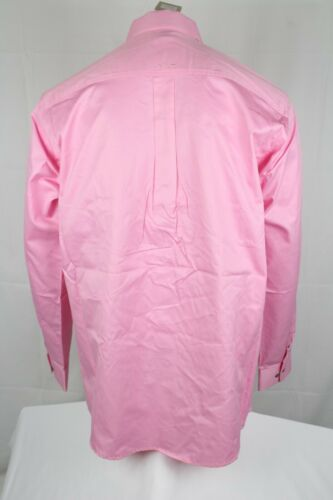 Ariat Men/'s Solid Twill Long Sleeve Button Western Shirt Prism Pink 10016692
