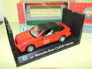 MERCEDES-CLK-320-Cabriolet-Capote-Rouge-CARARAMA