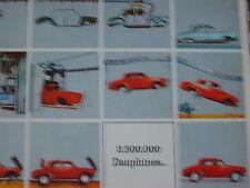 catalogue brochure RENAULT DAUPHINE GORDINI & VENTOUX 1963 / couleurs / français