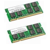 2gb ( 1gb X 2 ) Memory Ram For Dell Latitude D410 D510 D610 D620