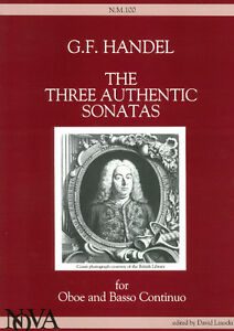 Sheet Music & Song Books Handel Sonatas Vol 1 Op1 Flute & Piano Special Buy