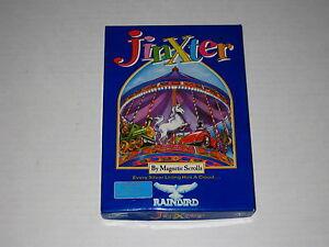 "Jinxter (IBM, 1988, 5.25"") Vintage, Rare DOS PC Game, Rainbird"
