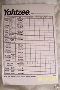 THE-BEST-YAHTZEE-SCORE-PADS-CARDS-DICE-GAME-480-SHEETS-5-FREE-DICE-W-EACH-SET