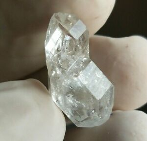 12ct Natural DT Terminated Himalayan Herkimer Diamond Quartz Rainbow, US Seller