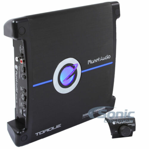 PLANET AUDIO 1500W Max Torque Series Monoblock Car AmplifierTR1500.1M