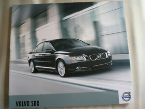 Details about Volvo S80 brochure 2011 USA market
