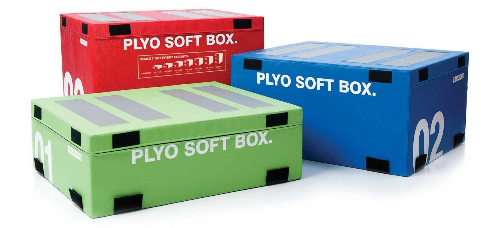 Escape Fitness Plyosoft Box Set 01, 02 and 03
