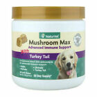 NaturVet Mushroom Max Advanced Immune Support 60 Soft Chews 4 Dogs and Cats