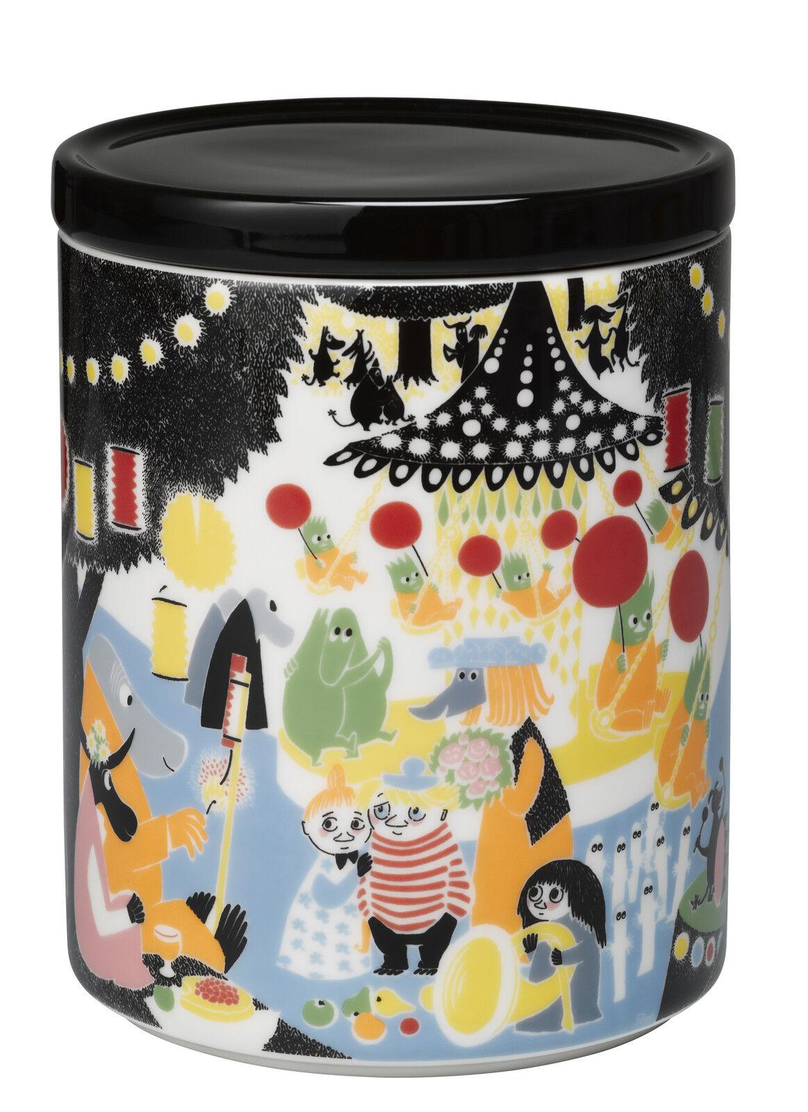Moomin Céramique Jar 1. 2 L amitié Arabia Finland