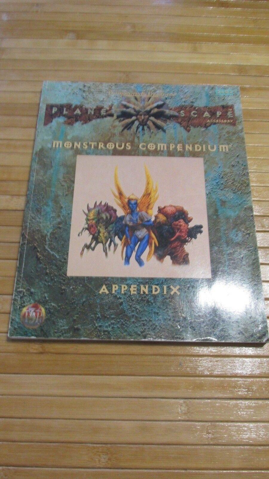 Dungeons & Dragons 2e Planescape Monstrous Compendium Appendix 2602