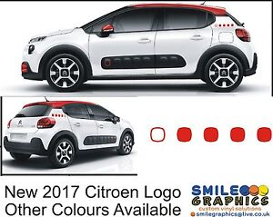new 2017 citroen c3 airbump design stickers graphics decals c1 c4 cactus picasso ebay. Black Bedroom Furniture Sets. Home Design Ideas