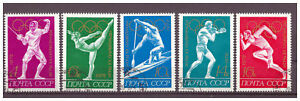 Sowjetunion-Olympische-Sommerspiele-Muenchen-MiNr-4020-4024-1972-used