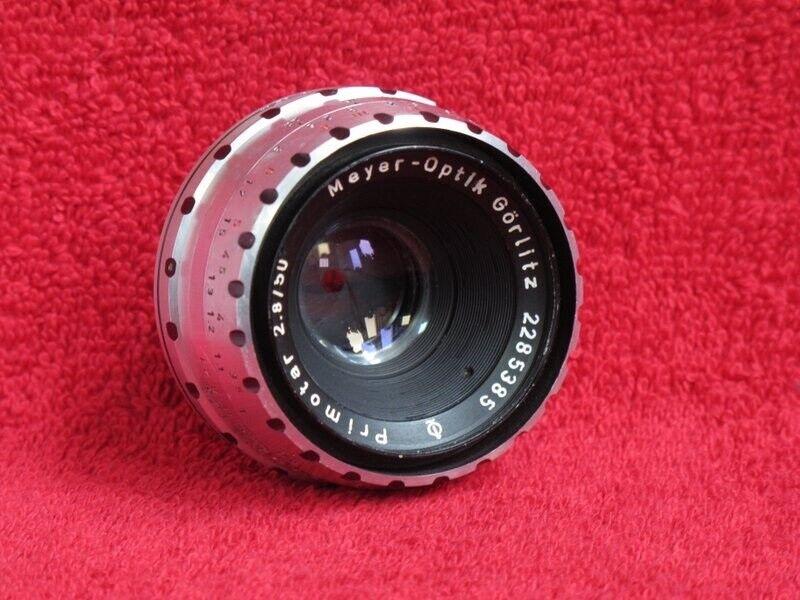 Normalobjektiv, andet mærke, Primotar 50mm 2,8.