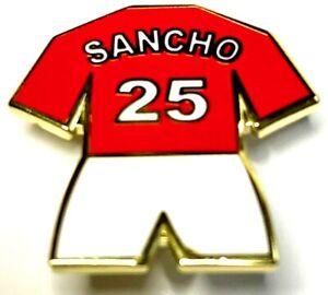United Anstecknadel Manchester Player 25 Sancho Fußballfans Geschenk