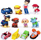 Lot 12 IN 1 PAW Patrol Dog Car Mini Figure Play Set Ryder & 6 Dogs Kid Toy Gift