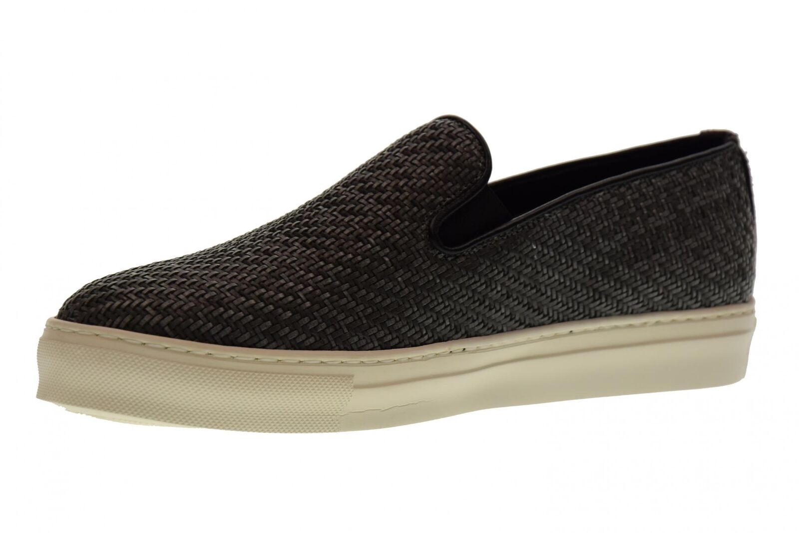 Antica Antica Antica Cuoieria scarpe uomo slip on 20123-I-V06 INTRECCIO KIRA GRIGIO P18   Stile elegante  b7d63a