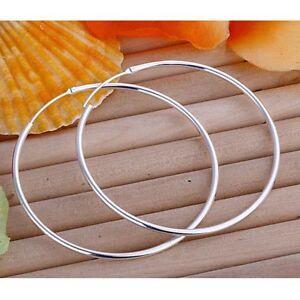 ASAMO-Damen-Ohrringe-grosse-Creolen-925-Sterling-Silber-plattiert-Ohrschmuck