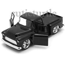 Jada Just Trucks 1955 Chevy Stepside Pickup Truck 1:32 Diecast Toy Car Black