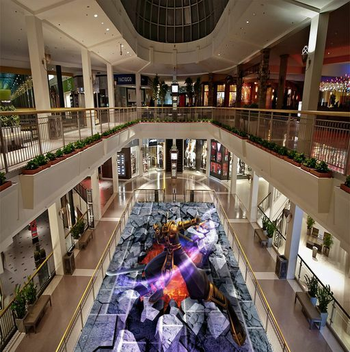 3D d'écran Paladin 08 Fond d'écran 3D étage Peint en Autocollant Murale Plafond Chambre Art dd3c2b