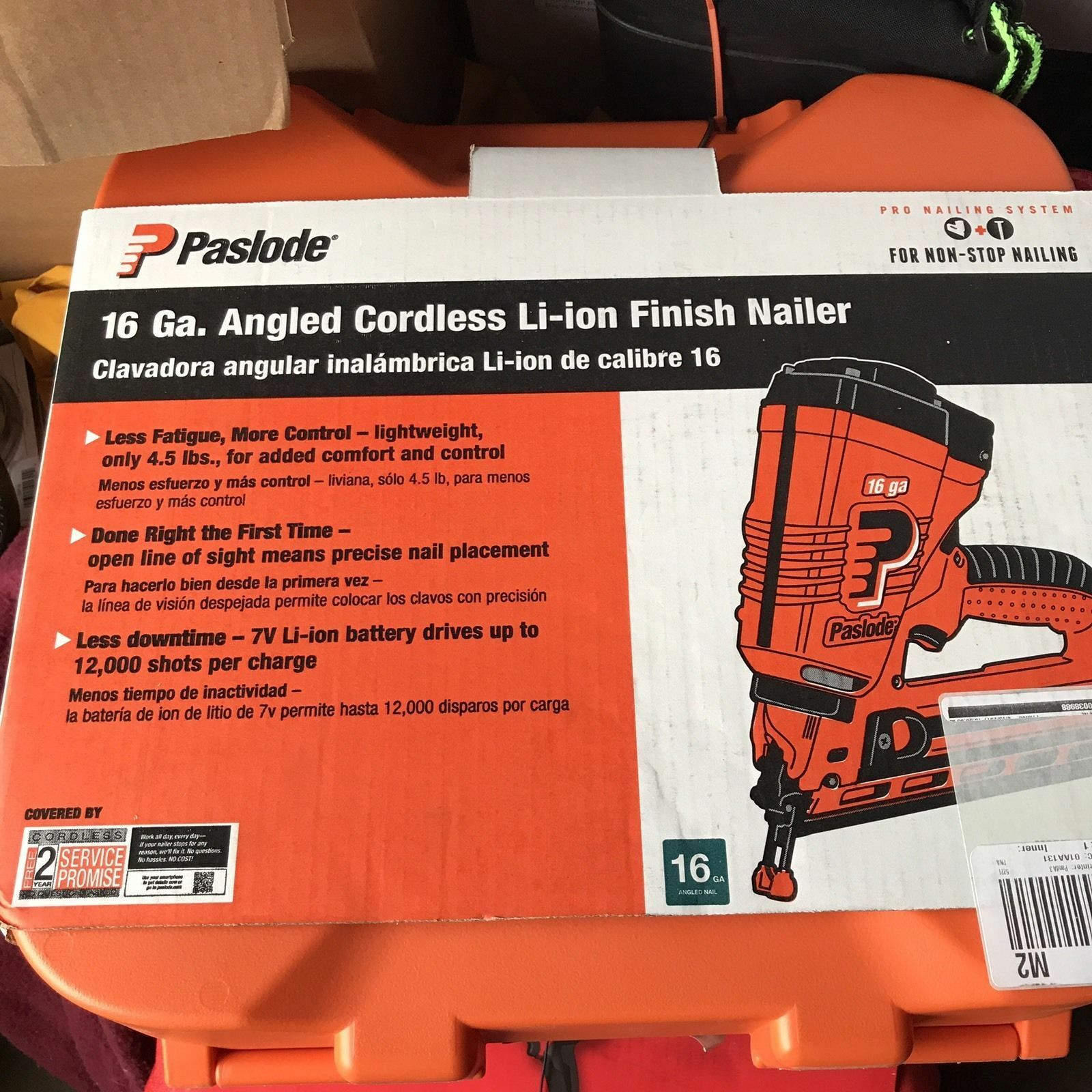Paslode IM250ALi 16 Gauge Angled Cordless Finish Nailer 902400 .[..,. Buy it now for 279.99