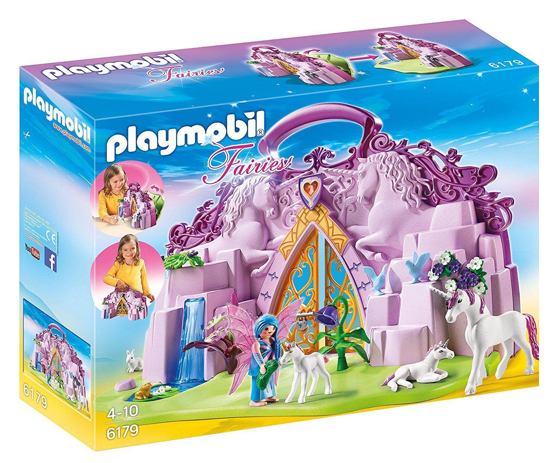 PLAYMOBIL 6179 Take Along Fairy Unicorn Garden Ages 4+ Toy Pony Horse Play Girls