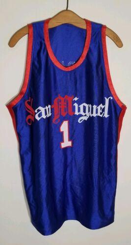 Rare San Miguel basketball Jersey