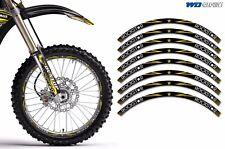 Rim Trim Kit For Honda CR CRF CRM XR Grom MX Dirt Bike Decals Racing Stickers RS