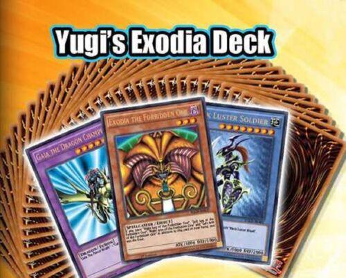 English 1st Edition Sealed New Original Real Yu-gi-oh Deck Yugi/'s Exodia Deck