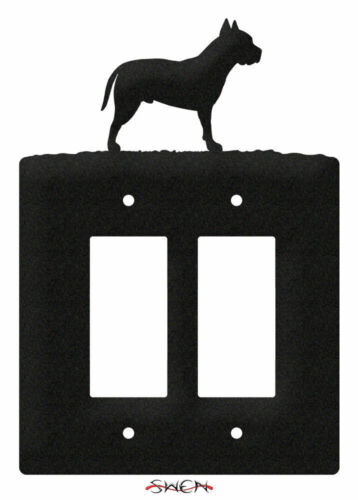 SWEN Products AMERICAN STAFFORD PIT BULL DOG Light Switch Plate Covers